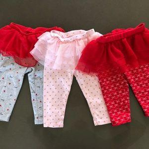 Bundle of 3 tutu leggings